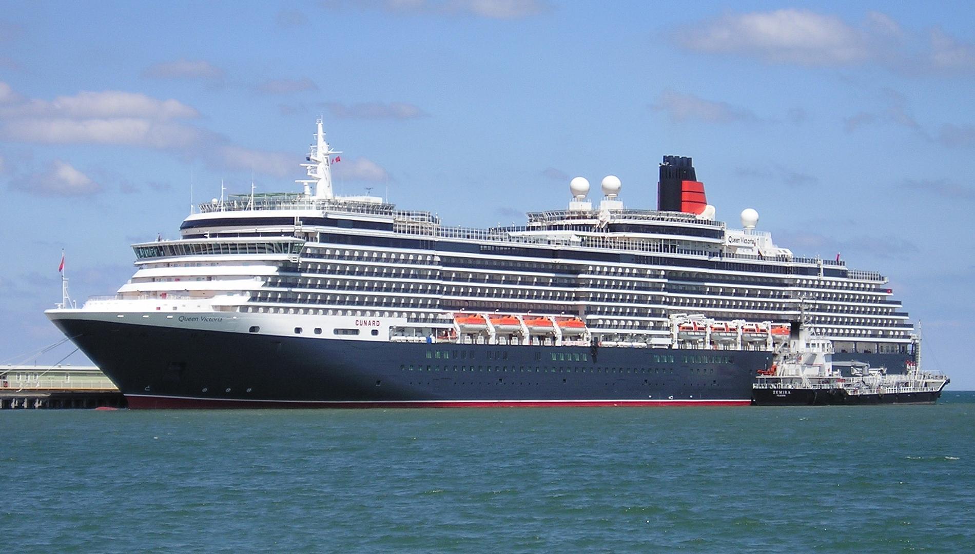 Tàu Cunard Queen Victotria sử dụng sơn Sigma