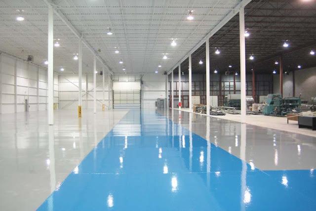 Sàn nhà sử dụng sơn Sigma