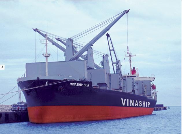Tàu VNA4 dùng sơn Sigma